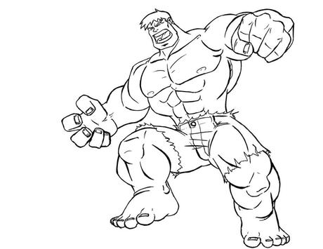top 20 superhero coloring pages