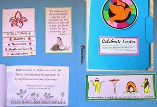 Image: Free Easter Lapbook