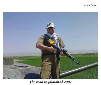 Alan Barry. Salesman with an AK47, Jalalabad