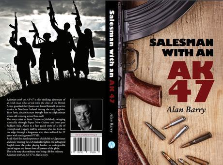 Alan Barry author. Salesman with an AK47. Book cover