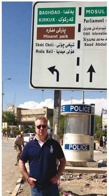 Alan Barry. Salesman with an AK47, Iraq