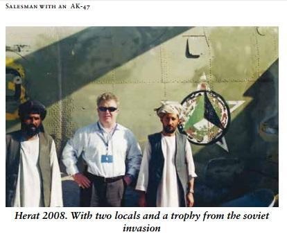 Alan Barry. Salesman with an AK47, Afghanistan