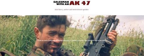 Alan Barry Author www.alanbarryauthor.com home page