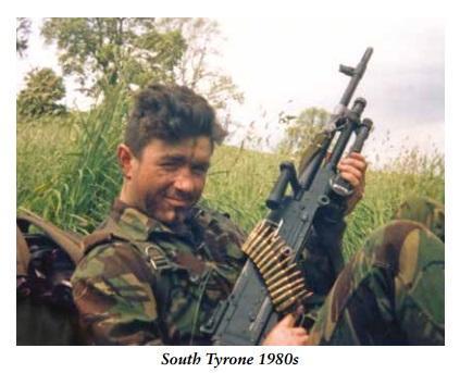 Alan Barry. Salesman with an AK47. South Tyrone 1980s