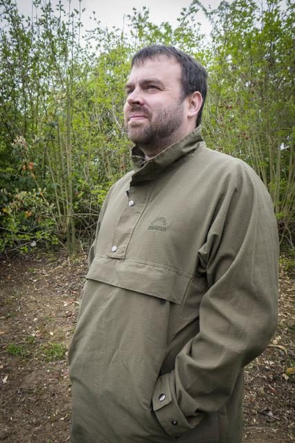 Me wearing the Country Innovation Raptor Smock