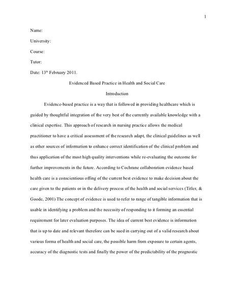 Research Paper Samples