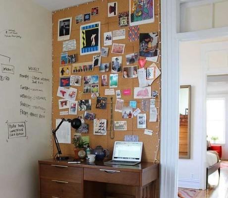 27 DIY Cool Cork Board Ideas, Instalation & Photos