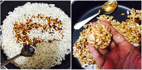 Puffed Rice Balls
