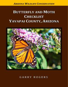 Butterflies and Moths of Yavapai County, Arizona