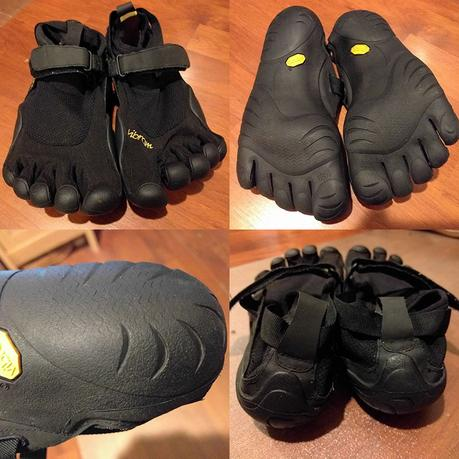 Climbing in Vibram FiveFingers - First Look - Athlete Audit
