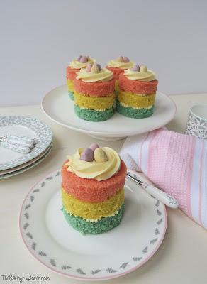 Mini Layered Easter Cakes & A Mary Berry Homeware Competition!