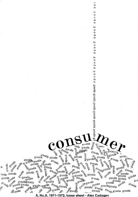 Consumer – Concrete Poetry – Compass Songs