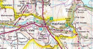 Spring Dark & White MBO Score – Hayfield