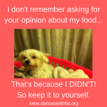 Tell The Food Police To Take A Holiday with the Help of My Dogs