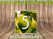#Celebrating #PawsForReaction #Ontario #PetBlog #Anniversary