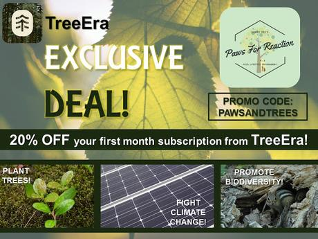 #ExclusiveDeal on #TreeEra #subscription from #PawsForReaction #PromoCode