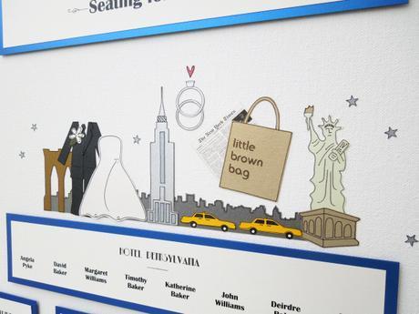 New York Themed Wedding Stationery by the Wedding Invite Company ...