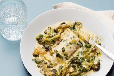 Creamy Fish and Broccoli Casserole