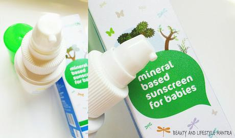 Review // Mama Earth Mineral Based Sunscreen for Babies
