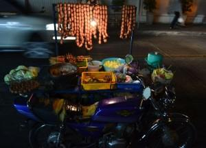 Isan Sausage Motorbike, Street Food Ban in Bangkok Good or Bad