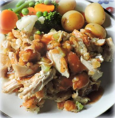 Old Time Chicken Roast