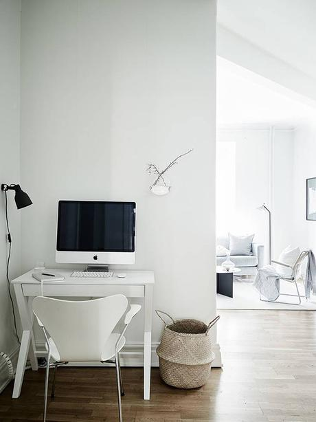 Small home office inspiration | Stadshem