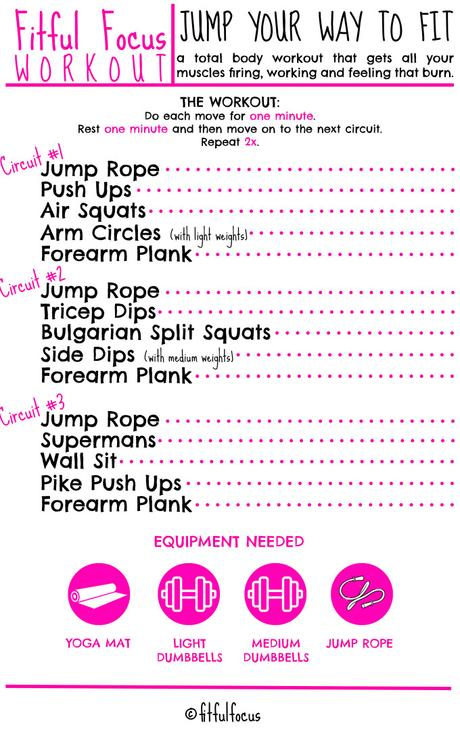 Jump Your Way To Fit (Total Body Circuit)