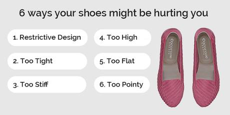 How your shoes may be hurting you?