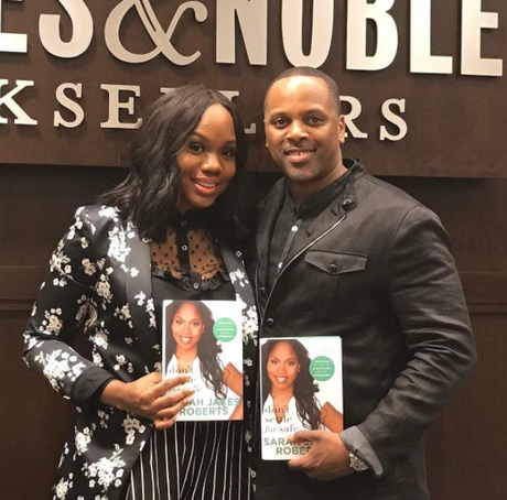 Sarah Jakes Roberts Honors Her Husband After Successful Book Release