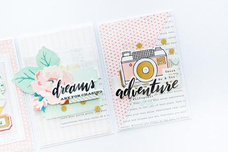 Crate Paper Design Team : Pastel Cards