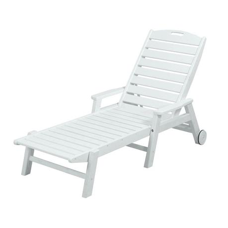 White Plastic Lounge Chairs
