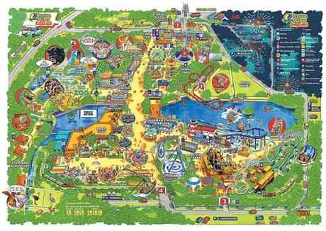 Drayton Manor Map