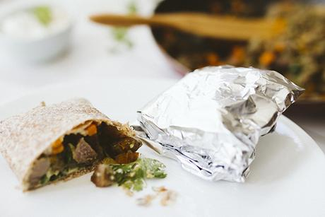 Healthy Wrap Recipe On The Go