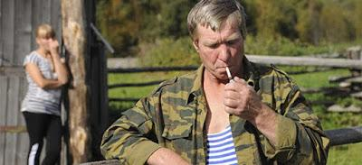 """206. Russian director Andrei Mikhalkov-Konchalovsky's film """"Belye nochi pochtalona Alekseya Triyapitsyna """" (The Postman's White Nights)(2014) (Russia):  An amazing, profound elegy reconciling one to the fact that good and evil coexist in Russia, then a..."""