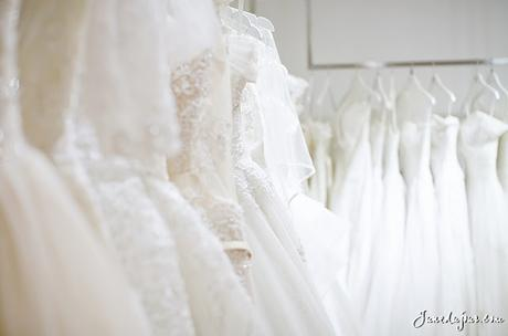 What bridal dreams are made of: 1st Gown Fitting at The Louvre Bridal!