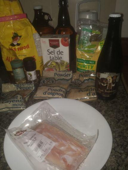 Beer Battered Cajun Crocodile Recipe (Dark Farmhouse – Microbrasserie Le Castor)