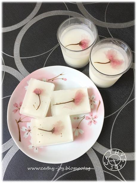 Sakura Kanten Jelly