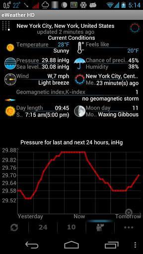 Weather, Alerts, Barometer v7.0.1 APK