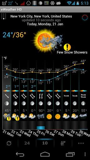 Weather, Alerts, Barometer v7.0.1 APK