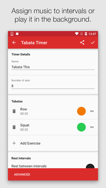 Seconds Pro Interval Timer- screenshot