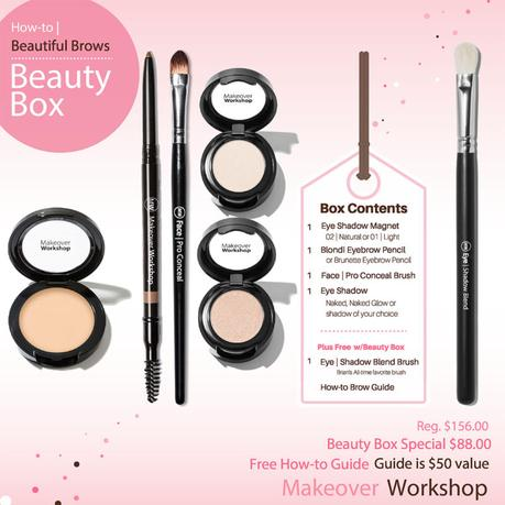 Brow beauty box