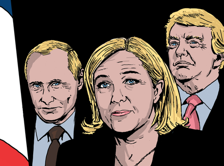 What If Marine Le Pen Won The French Election? These Graphic Novels Decode A Possible Far-Right Future