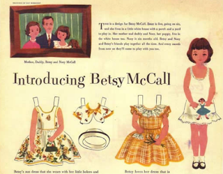 Image: Free Betsy McCall Paper Dolls