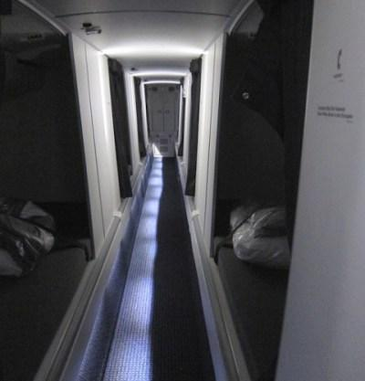 Where do pilots sleep during long haul flights?