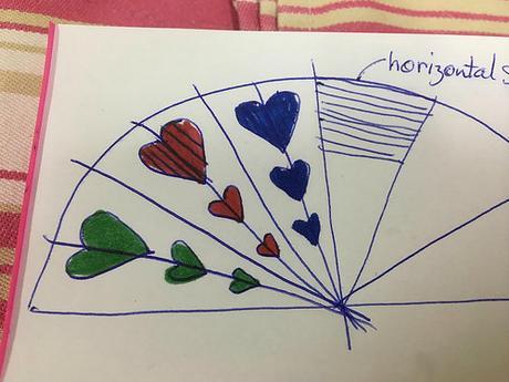 Paper Fan Diagram