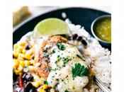 Easy Weeknight Dinner: Foil Pack Creamy Salsa Verde Chicken