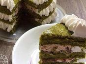 Matcha Azuki Bean Cake