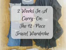 Packing Italy: 12-Piece Travel Wardrobe