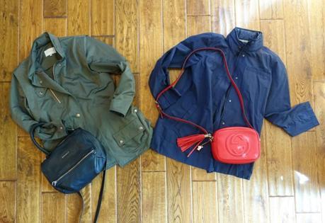 Spring travel wardrobe outerwear