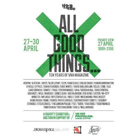 VNA Magazine – 'ALL GOOD THINGS' 10-Year Anniversary Exhibition